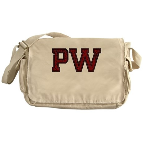 PW, Vintage Messenger Bag