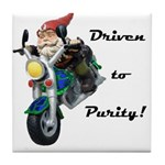 Driven to Purity Tile Coaster