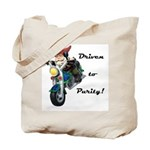 Driven to Purity Tote Bag