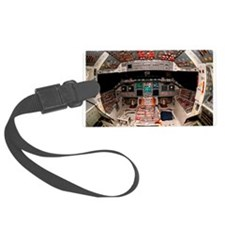 Shuttle Atlantis cockpit Luggage Tag