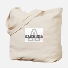 Alameda (Big Letter) Tote Bag