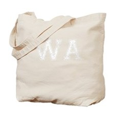 WA, Vintage Tote Bag
