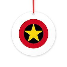Angola Roundel Ornament (Round)