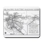 Pacific Electric Map Mousepad