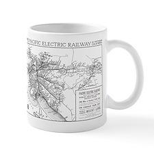 Pacific Electric Map Mug