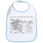 Pacific Electric Map Bib