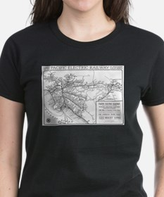 Pacific Electric Map Tee