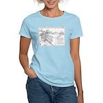 Pacific Electric Map Women's Light T-Shirt