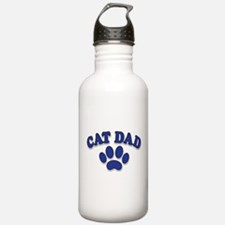 Cat Dad/Father's Day Water Bottle