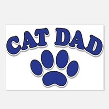 Cat Dad/Father's Day Postcards (Package of 8)
