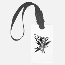 Rockout Guitar Luggage Tag