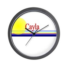 Cayla Wall Clock