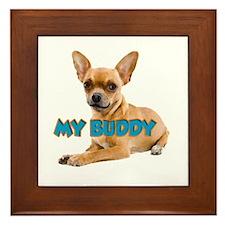 MY BUDDY Framed Tile