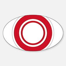 Bahrain Roundel Sticker (Oval)