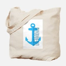 Unique Christian anchor Tote Bag