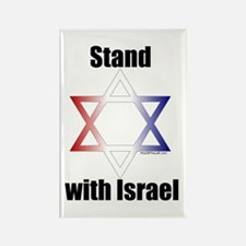 Stand with Israel Rectangle Magnet