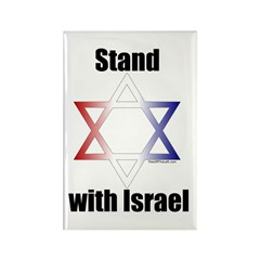 Stand with Israel Rectangle Magnet (100 pack)
