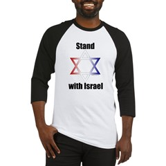 Stand with Israel Baseball Jersey