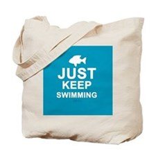 Keep Swimming Tote Bag