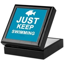 Keep Swimming Keepsake Box