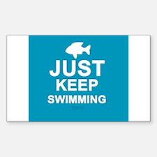 Keep Swimming Decal