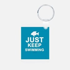 Keep Swimming Keychains