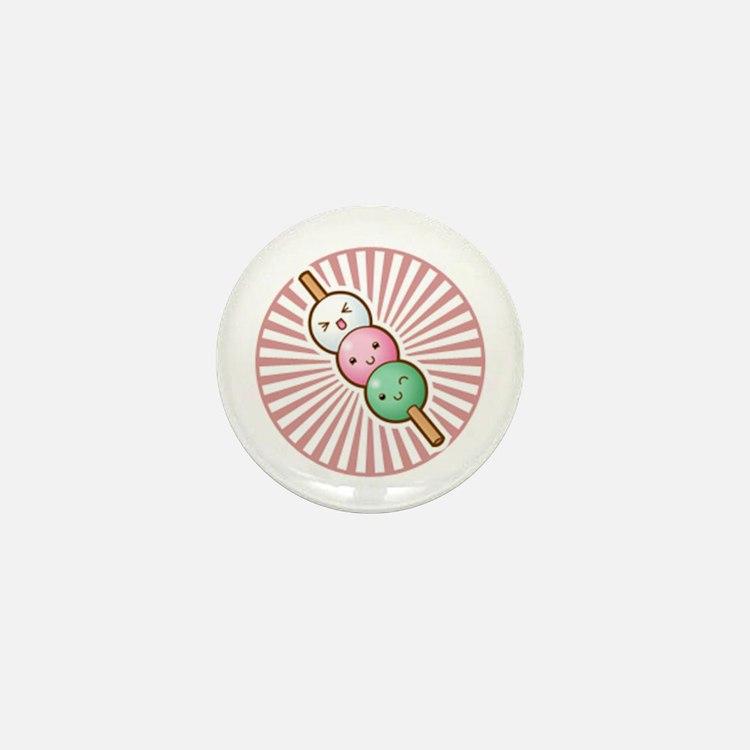 Kawaii Dumplings! Mini Button