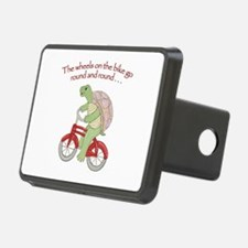 Turtle on Bike Hitch Cover