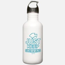 Just Keep Swimming Water Bottle