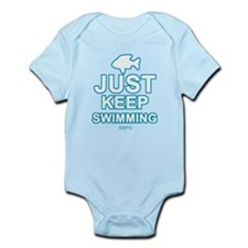 Just Keep Swimming Infant Bodysuit