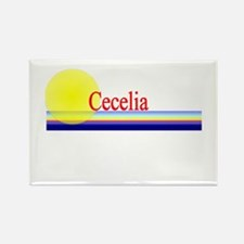 Cecelia Rectangle Magnet