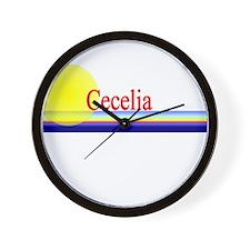 Cecelia Wall Clock