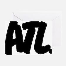 ATL Brushed Greeting Card