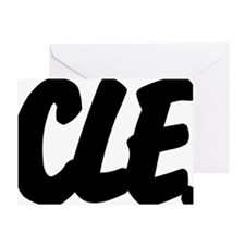 CLE Brushed Greeting Card