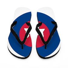 Cambodia Roundel Flip Flops