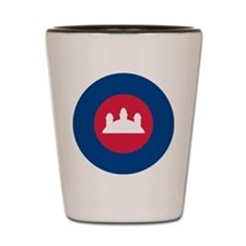 Cambodia Roundel Shot Glass