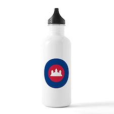 Cambodia Roundel Water Bottle