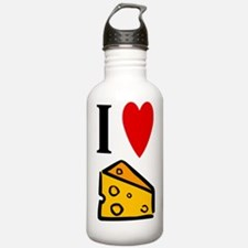 I Love Cheese Water Bottle