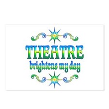 Theatre Brightens Postcards (Package of 8)