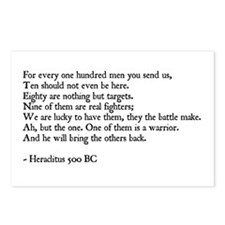 Heraclitus Quote Postcards (Package of 8)