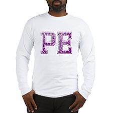PE, Vintage Long Sleeve T-Shirt