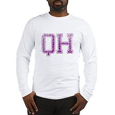QH, Vintage Long Sleeve T-Shirt