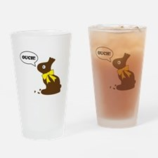 Bunny Ouch Drinking Glass