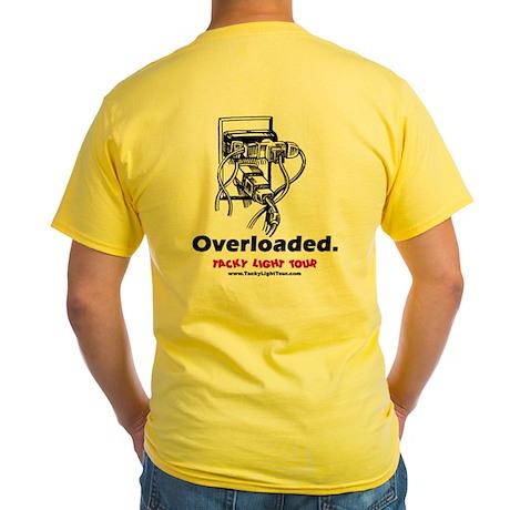 Overloaded. - Tacky Light Tour (Yellow T-Shirt)