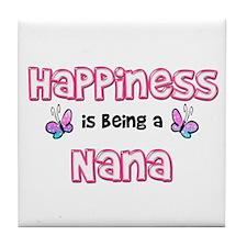 Funny Nana Tile Coaster