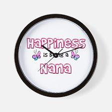 Cute Nana Wall Clock