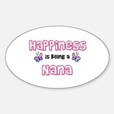 Happiness Is Being A Nana Decal