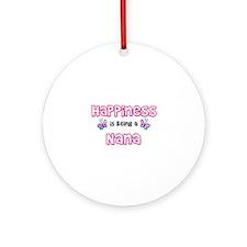 Unique Nana Ornament (Round)
