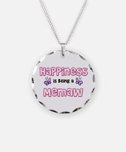 Funny Memaw Necklace