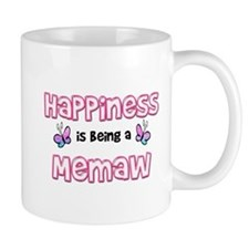 Funny Happiness is being a papa Mug